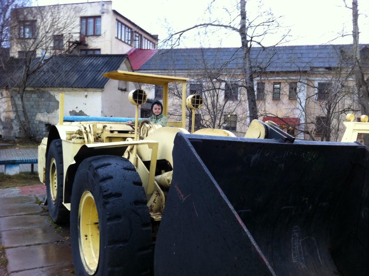 Музей шахтной техники.