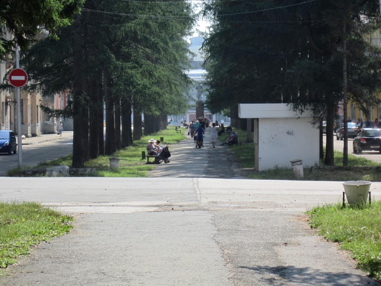 Ул. Мира 2012 год.