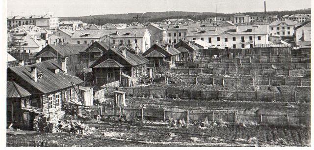 ул. Белинского, вид со стороны переезда