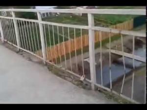 Мост любви в городе Североуральск  27 06 2015г
